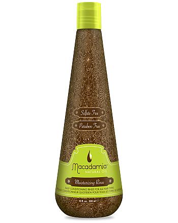Macadamia Moisturizing Rinse - Кондиционер увлажняющий на основе масла макадамии 300 мл - hairs-russia.ru
