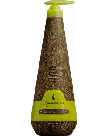 Macadamia Moisturizing Rinse - Кондиционер увлажняющий на основе масла макадамии 1000 мл - hairs-russia.ru