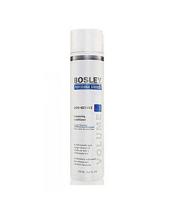 Bosley Воs Revive (step 2) Volumizing Сonditioner Visibly Thinning Non Color-Treated Hair - Кондиционер для объема истонченных неокрашенных волос 300 мл