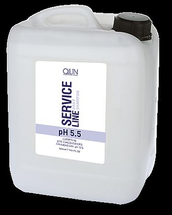Ollin Service Line Daily Shampoo Ph 5.5 Шампунь для ежедневного применения рН 5.5 5000 мл - hairs-russia.ru
