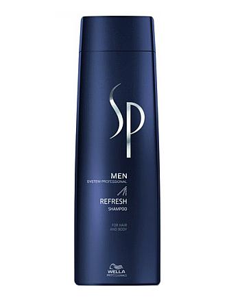 Wella SP Men Refresh Shampoo Освежающий шампунь 250 мл - hairs-russia.ru
