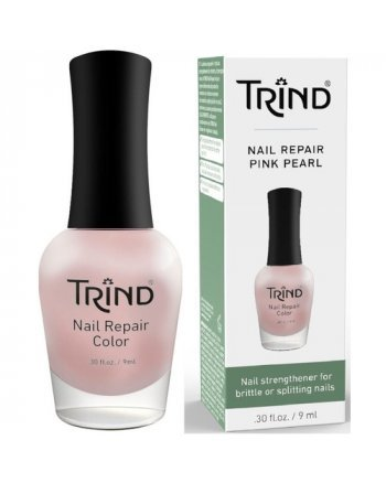 Trind Nail Repair Pink Pearl - Укрепитель для ногтей (розовый перламутр) 9 мл - hairs-russia.ru