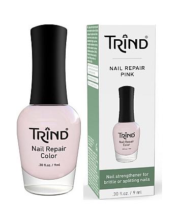 Trind Nail Repair Pink (Color 7) - Укрепитель для ногтей (розовый) 9 мл - hairs-russia.ru