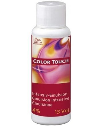 Wella Professional Color Touch 4% - Интенсивная эмульсия 60 мл