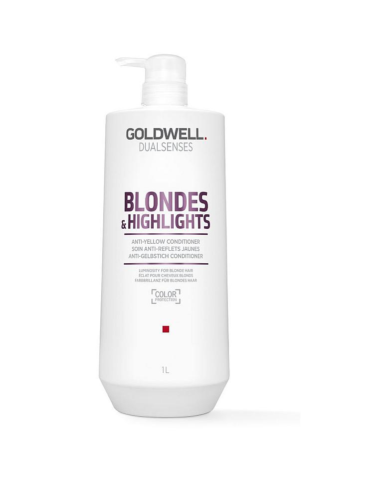 Бальзамы против желтизны волос